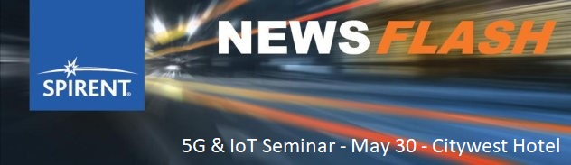 5G & IoT Seminar MAy 30th Citywest Hotel